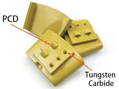 What is the difference between PCD and Tungsten Carbide in diamond tools?