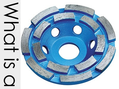 What is a diamond grinding cup wheel?