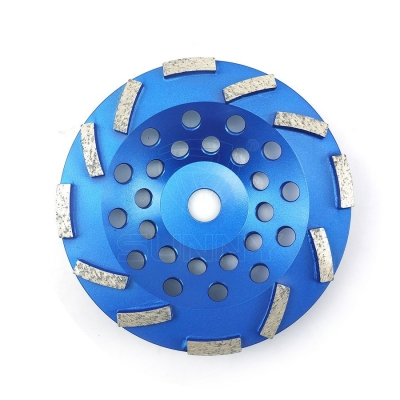 7 Inch Segmented Metal Bond Concrete Grinding Cup Wheel For Sale