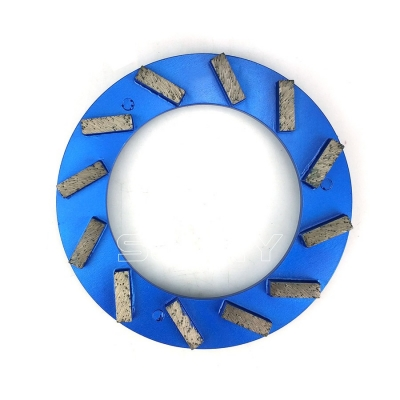 240mm Turbo Klindex Diamond Grinding Ring For Grinding Concrete Terrazzo Floor