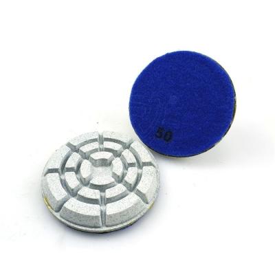 100mm Resin Bonded Diamond Polishing Pad for Concrete