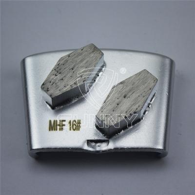 Rhombus Segments HTC Diamond Grinding Disc For Abrasive Concrete Grinding