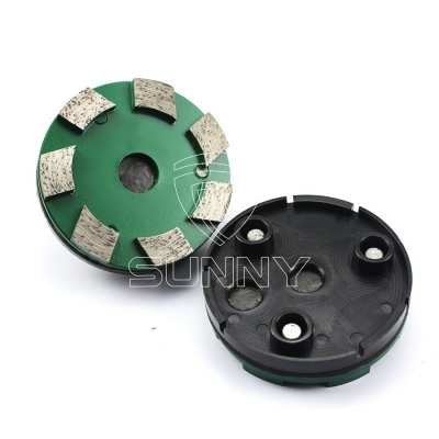 China 100mm Metal Bonded Klindex Grinding Wheel For Concrete Floor