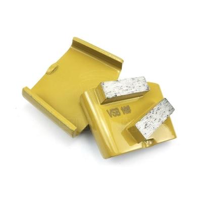 China 16 Grit Metal Bond Diamond Grinding Disc For HTC Concrete Floor Grinders