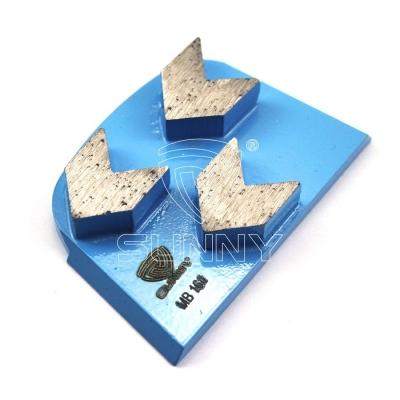 Superabrasive Lavina Concrete Floor Grinding Disc with 3 Arrow Diamond Segments