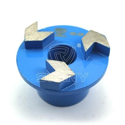 Buy 3 Arrow Segment Diamond Grinding Plugs From Sunny Manufacturer