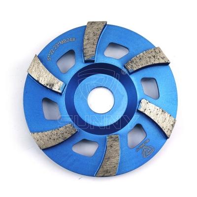 5 Inch Metal Bond Diamond Cup Wheel For Grinding Granite Marble Masonry Concrete