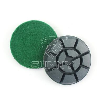 China Resin Bonded Diamond Polishing Pads For Concrete Floor Polishing