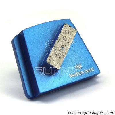 Sunny Metal Bond Abrasive Concrete Grinding Disc For PHX Floor Grinders