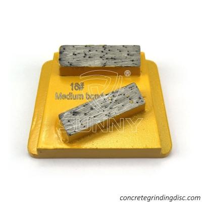 16# Double Diamond Segment Bar PHX Abrasive Concrete Grinding Disc For Sale