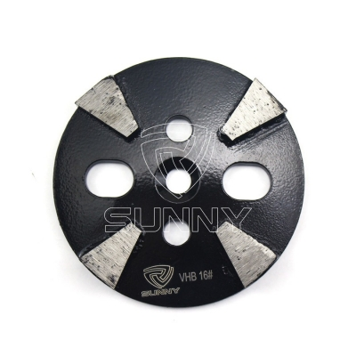 4 Inch 100mm Diamond Grinding Disc For Coarse Grinding Concrete Terrazzo Stone Floors