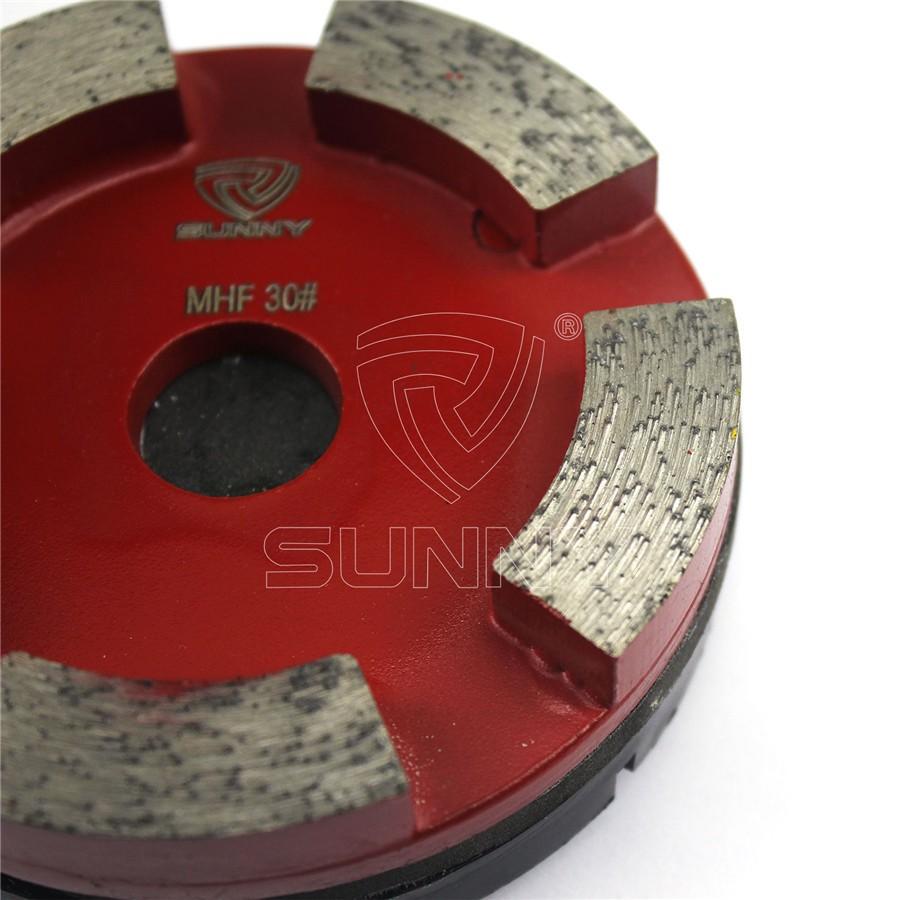 100mm Klindex Diamond Grinding Pads For Concrete Terrazzo Floor