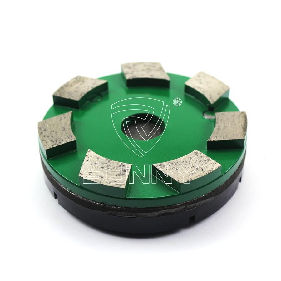 100mm Klindex Diamond Grinding Pads For Concrete Terrazzo Floor China 100mm Metal Bonded Klindex Grinding Wheel For Concrete Floor