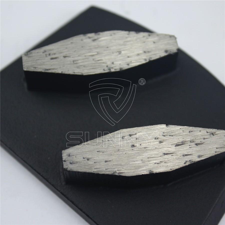 Abrasive Matt Black Lavina EDCO Concrete Grinding Plate Manufacturer in China