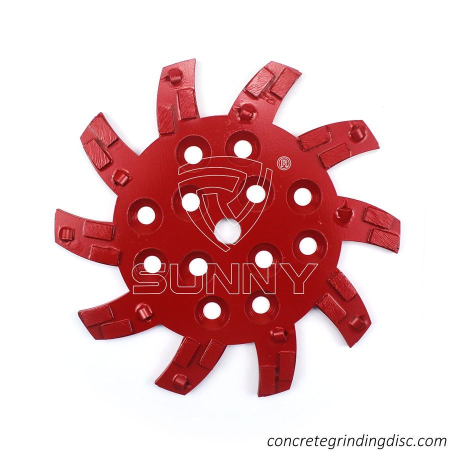 250mm 0419292//013 blastrac grinding disc EN13236  10 in