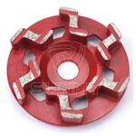 Z type diamond cup wheel