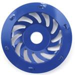 PCD chips diamond cup wheel