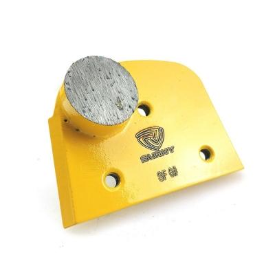 6# Round Segment Lavina Superabrasive Concrete Polishing Pads For Coarse Grinding