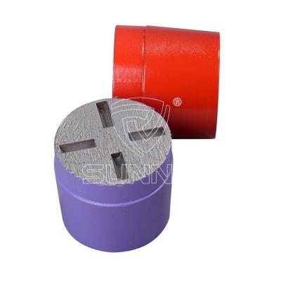 Metal Bond Concrete Grinding Plugs For Floorex Terrco Concrete Grinding Machine