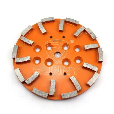 10 Inch Blastrac Edco Mk Diamond Grinding Plate For Grinding Concrete Floor